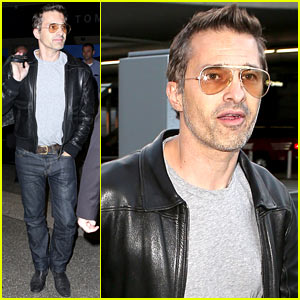 Olivier Martinez: Back Stateside After 'Physician' Promo Work!