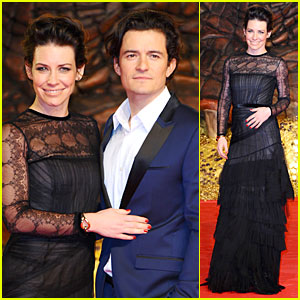 Orlando Bloom & Evangeline Lilly: 'Hobbit' Berlin Premiere!
