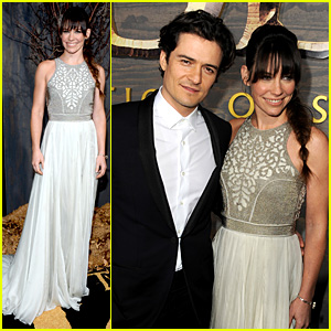 Orlando Bloom & Evangeline Lilly: 'Hobbit' Hollywood Premiere!