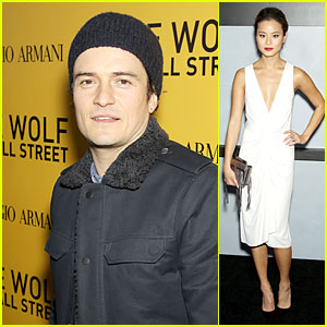 Orlando Bloom & Jamie Chung: 'Wolf of Wall Street' Premiere!