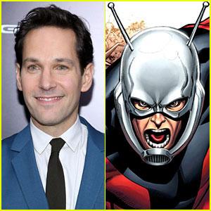 Paul Rudd is 'Ant-Man' - Marvel Confirms Casting Choice!