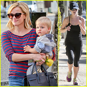 Reese Witherspoon: Ivy at the Shore Lunch with Tennessee!