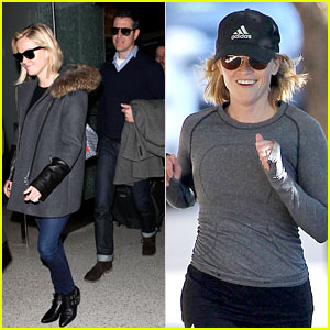 Reese Witherspoon: Morning Jog After Paris Vacation!