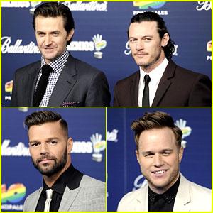 Ricky Martin & Luke Evans: 40 Principales Awards 2013!