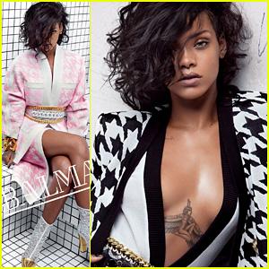 Rihanna: Balmain Spring/Summer 2014 Campaign!