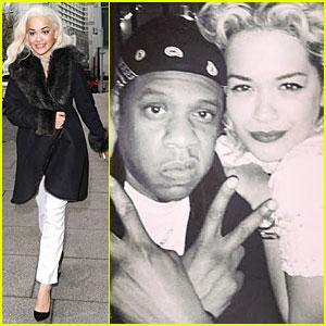 Rita Ora: Happy Birthday Jay Z!