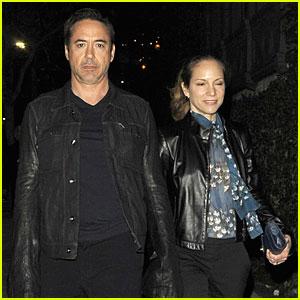 Robert Downey Jr. & Susan: 'I'll Eat You Last' Play Date!