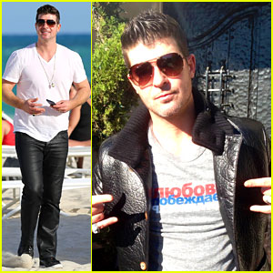 Robin Thicke Supports the HRC Love Conquers Hate Campaign