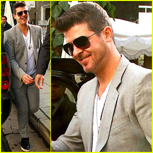Robin Thicke Thanks Grammy Committee for the Nominations!