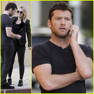 Sam Worthington & Lara Bingle: Beverly Hills Shopping Duo