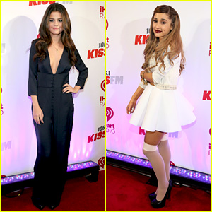 Selena Gomez & Ariana Grande: 106.1 KISS FM Jingle Ball!