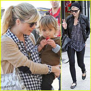 Selma Blair: Tchu Tchu Train Ride with Arthur!