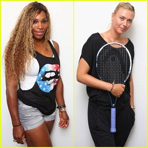Serena Williams & Maria Sharapova: Brisbane International 2014