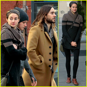 Shailene Woodley & Jared Leto Hang Out in New York City!