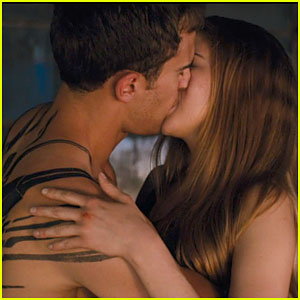 Shailene Woodley & Theo James Kiss in New 'Divergent' Clip!