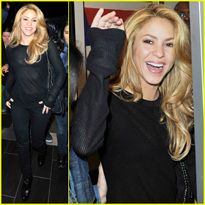 Shakira: LAX After New Single Video Shoot!