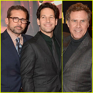 Steve Carell & Paul Rudd: 'Anchorman 2' Dublin Premiere!