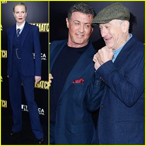 Sylvester Stallone & Robert De Niro: 'Grudge Match' Screening!