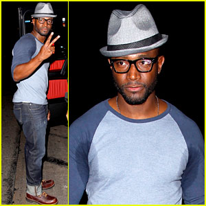 Taye Diggs Sweats it Out at Post Christmas Club Night