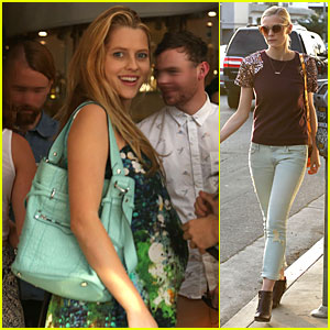 Teresa Palmer Celebrates at Baby Shower with Jaime King!