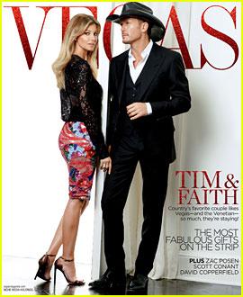 Tim McGraw & Faith Hill Cover 'Vegas' Magazine December 2013