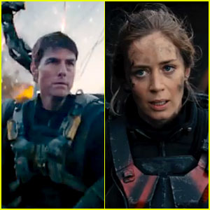 Tom Cruise & Emily Blunt: 'Edge of Tomorrow' Trailer!