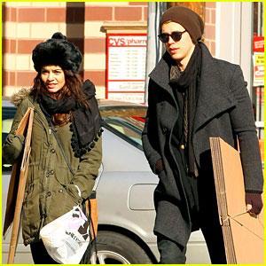 Vanessa Hudgens & Austin Butler: UPS Stop in NYC