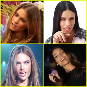 Victoria's Secret Angels Lip Sync to 'I Knew You Were Trouble'!