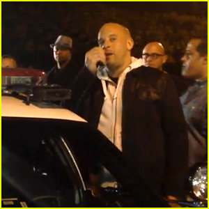 Vin Diesel Speaks at Paul Walker Memorial at Crash Site (Video)