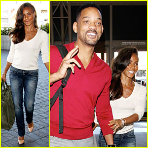 Will Smith & Jada Pinkett Smith: LAX Departure Before New Year!