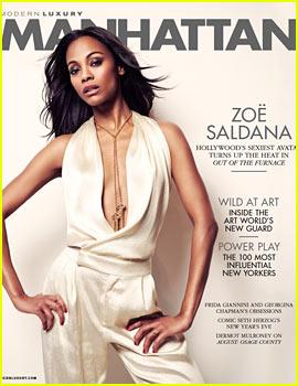 Zoe Saldana: 'It's Very Hard Being a Woman in a Man's World'