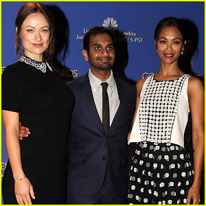 Zoe Saldana & Olivia Wilde Announce Golden Globes 2014 Nominations!