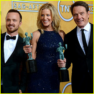 Bryan Cranston & Aaron Paul - SAG Awards 2014