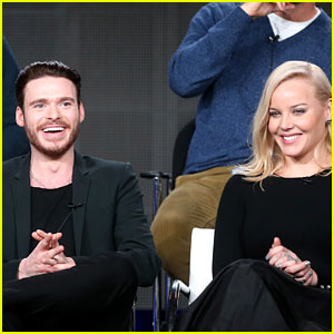 Abbie Cornish & Richard Madden: 'Klondike' TCA Panel!