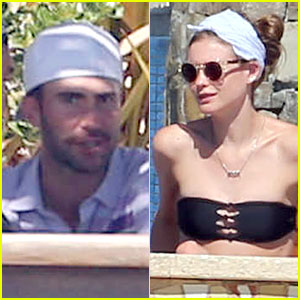 Adam Levine & Behati Prinsloo: Cabo Vacation in the New Year!