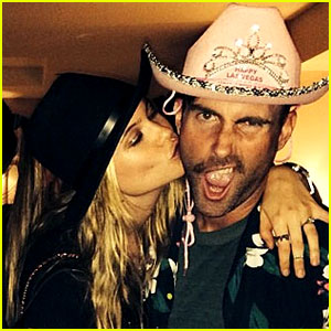 Adam Levine Gets New Year's Eve Kiss from Behati Prinsloo!