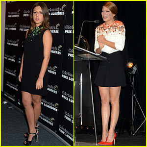 Adele Exarchopoulos & Lea Seydoux Win at Lumiere Awards!