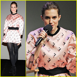 Allison Williams: 'Meet The Actors' at Apple Store in NYC!