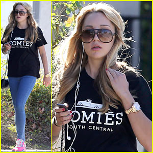 Amanda Bynes Steps Out Solo in the New Year