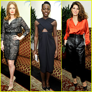 Amy Adams & Lupita Nyong'o Kick Off Golden Globes Weekend!