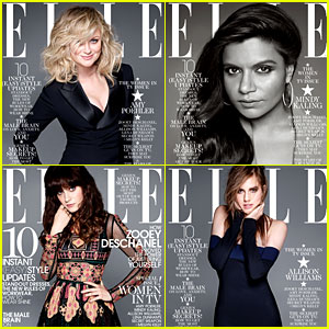 Amy Poehler, Mindy Kaling, & More Cover 'Elle' TV Issue!