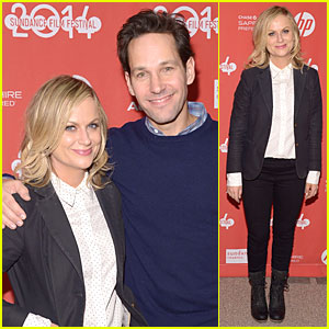 Amy Poehler & Paul Rudd: 'They Came Together' Sundance Premiere!