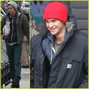 Andrew Garfield: 'Amazing Spider-Man 2' Reshoots in Brooklyn
