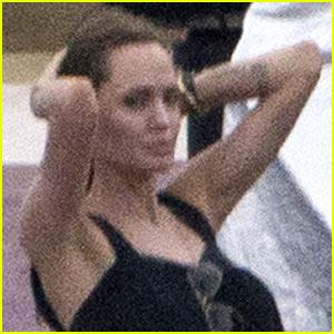 Angelina Jolie Continues Directing 'Unbroken' in Australia