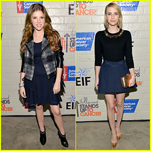 Anna Kendrick & Emma Roberts: All Legs at Stand Up to Cancer Event!