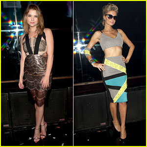 Ashley Benson & Paris Hilton: Republic Records Grammys Party!
