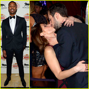 Ashley Greene & Michael B. Jordan: New Year's Eve in Vegas!