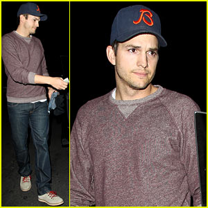 Ashton Kutcher Tips His Valet After Date Night with Mila Kunis