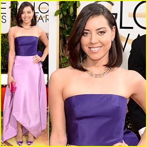 Aubrey Plaza - Golden Globes 2014 Red Carpet