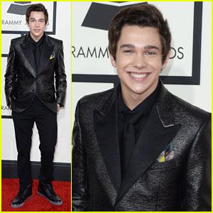 Austin Mahone - Grammys 2014 Red Carpet